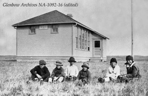 8. Bearspaw School 1920 - Na-1092-16