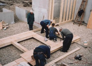 9. preparing the site for the school